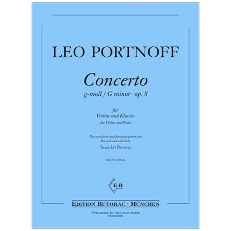 Portnoff, L.: Concerto g-moll Op. 8
