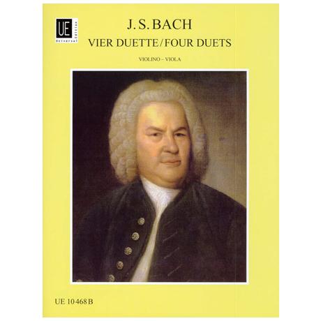 Bach, J.S.: 4 Duette nach BWV802-805