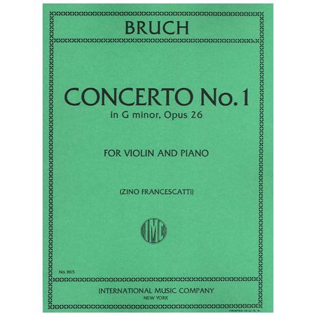 Bruch, M.: Konzert Nr. 1 Op. 26 g-Moll