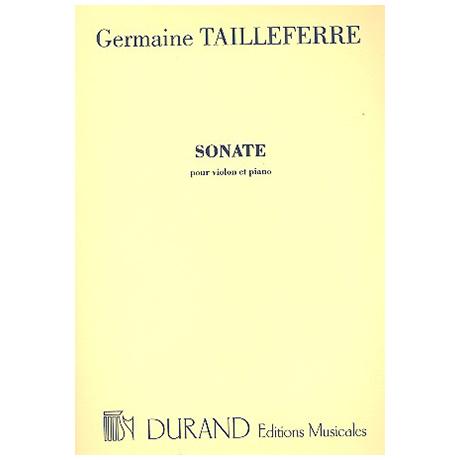 Tailleferre, G.: Violinsonate Nr. 1 (1922)