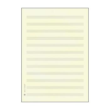 STAR Notenpapier Doppelbogen DIN A4 hoch