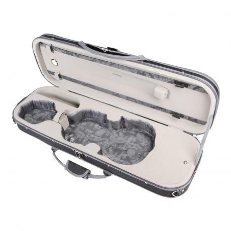 PACATO Paisley Violinkoffer 4/4 | schwarz/grau
