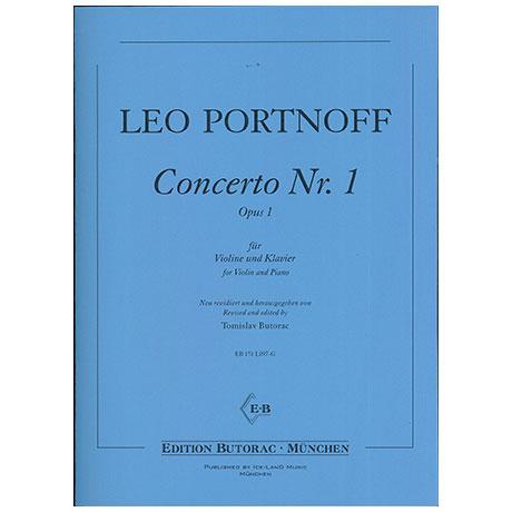 Portnoff, L.: Violinkonzert Nr. 1 Op. 1