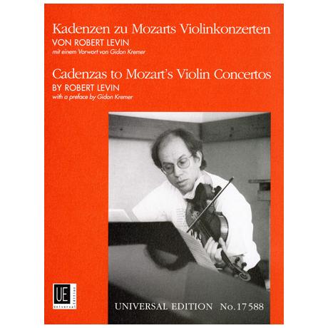 Kadenzen zu Mozarts Violinkonzerten von Robert D. Levin