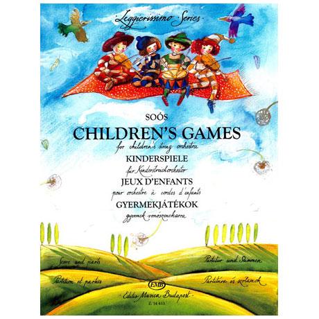 Leggierissimo - Soós: Kinderspiele