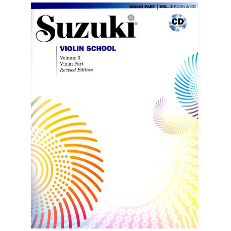 Suzuki Violin School Vol.3 (+CD)