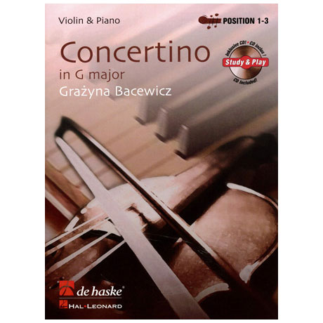 Bacewicz, G.: Concertino G-Dur (+CD)