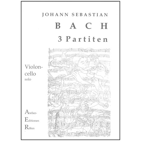 Bach, J.S.: 3 Partiten für Violine solo