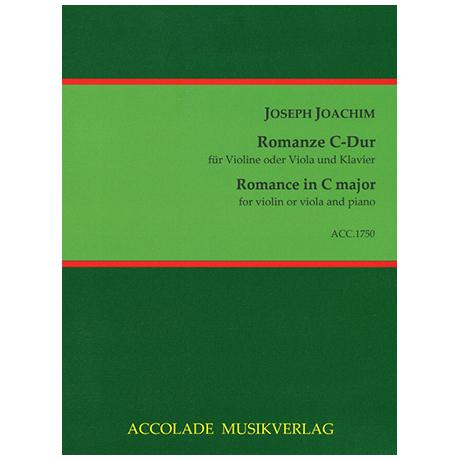 Joachim, J.: Romanze C-Dur