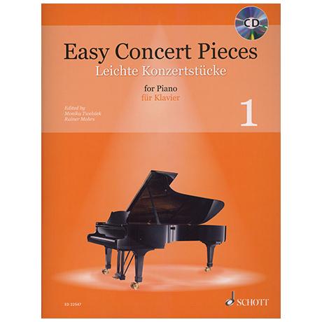 Twelsiek, M. / Mohrs, R.: Easy Concert Pieces – Leichte Konzertstücke (+CD) Bd. 1