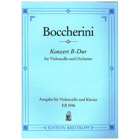 Boccherini, L.: Konzert B-Dur