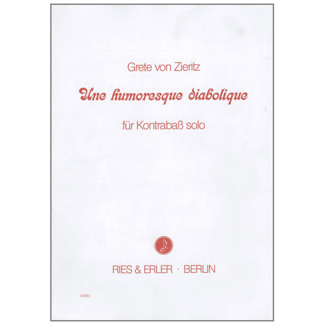 Zieritz, G.v.: Une humoresque diabolique
