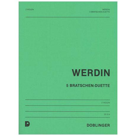 Werdin, E.: 5 Bratschen-Duette