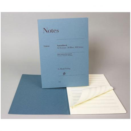 Henle Notenblock »Notes«