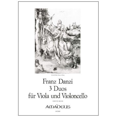 Danzi, F.: 3 Duos Op.9 Band 1