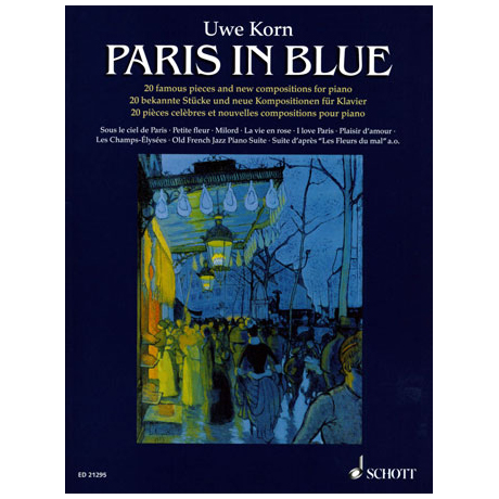 Korn, U.: Paris in Blue