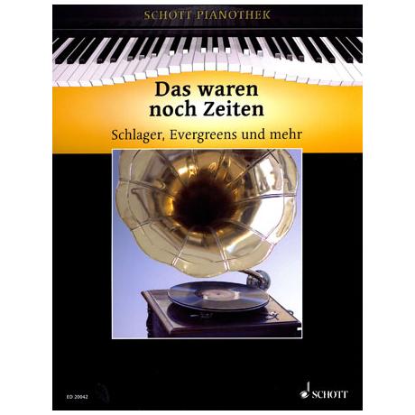 Schott Pianothek: Das waren noch Zeiten