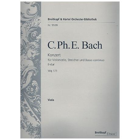 Bach, C.P.E.: Konzert B-Dur Wq171