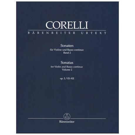 Corelli, A.: Violinsonaten Band 2 Op. 5/7-12