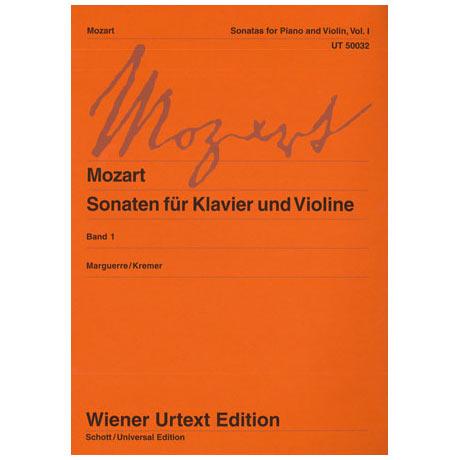 Mozart, W. A.: Violinsonaten Band 1 KV 301-306