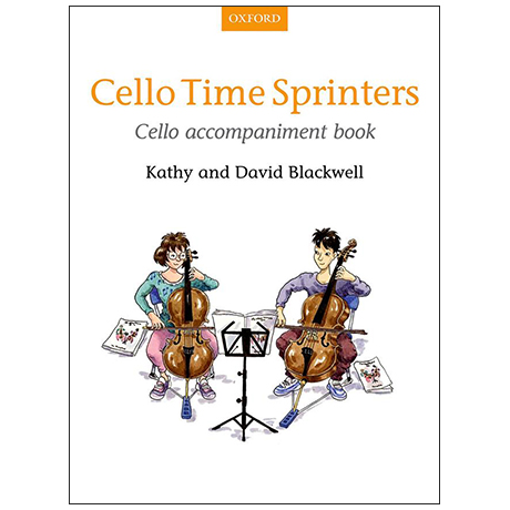 Blackwell, K. & D.: Cello Time Sprinters – Cellobegleitung