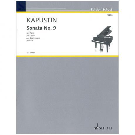 Kapustin, N.: Klaviersonate Nr. 9 (1995)