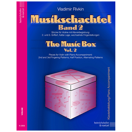 Rivkin, V.: Die Musikschachtel Band 2 (Klavierbegleitung)