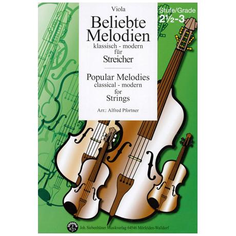 Beliebte Melodien: klassisch bis modern Band 4 – Viola