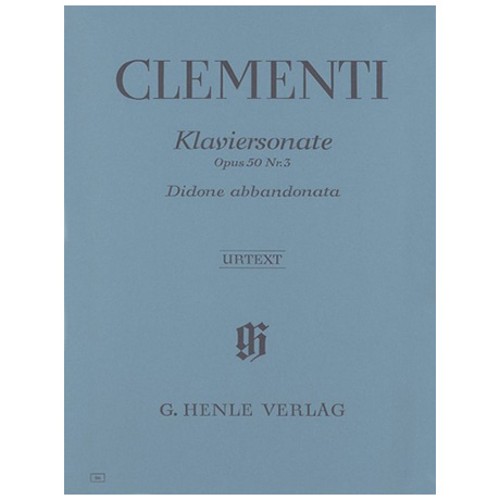 Clementi, M.: Klaviersonate Didone abbandonata