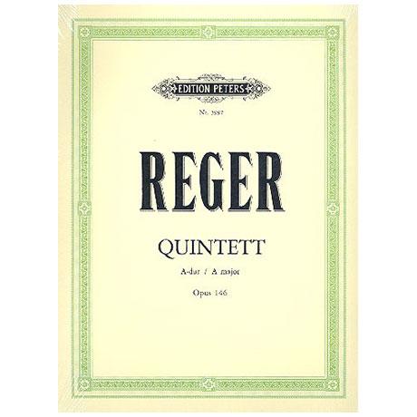 Reger, M.: Klarinettenquintett Op. 146 A-Dur