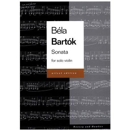 Bartók, B.: Solo-Sonate für Violine