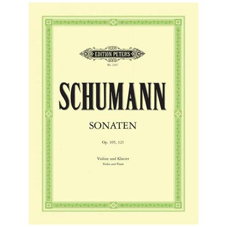Schumann, R.: 2 Violinsonaten Op. 105 a-Moll, Op. 121 d-Moll