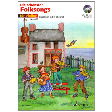 Magolt, H. + M.: Die schönsten Folksongs (+ CD)
