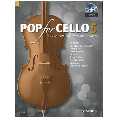 Pop for Cello 5 (+CD)