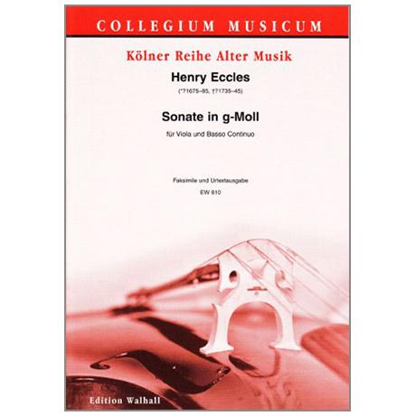 Eccles, H.: Sonata Undecimo g-moll
