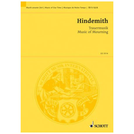 Hindemith, P.: Trauermusik (1936)