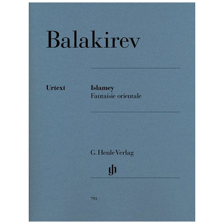 Balakirev, M.: Islamey – Fantaisie orientale