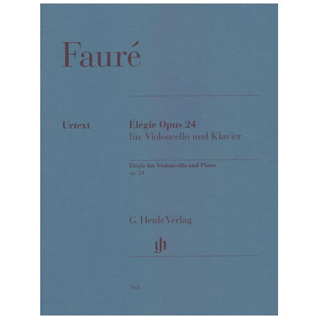 Fauré, G.: Elegie Op. 24