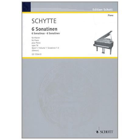 Schytte, L.: 6 Sonatinen Op.76 Band 1