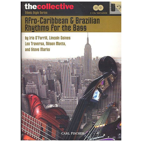 Afro-Caribbean & Brazilian Rhythms: for bass (+2CDs)