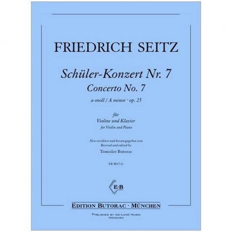 Seitz, F.: Schülerkonzert Nr. 7 Op. 25 a-Moll