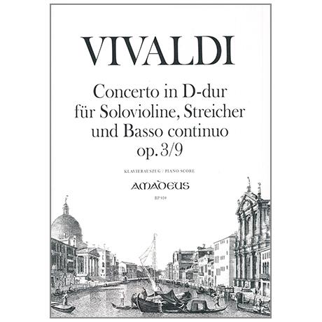Vivaldi, A.: Violinkonzert Nr. 9 Op. 3