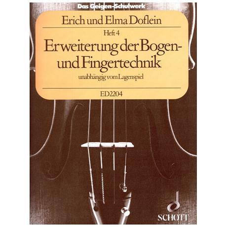 Doflein, E.: Das Geigen-Schulwerk Band 4