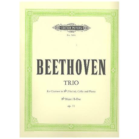 Beethoven, L. v.: Klaviertrio Op. 11 B-Dur (Gassenhauer-Trio)