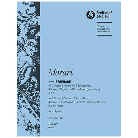 Mozart, W. A.: Serenade B-Dur KV 361