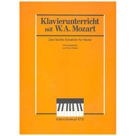 Mozart, W. A.: Zwei leichte Sonatinen