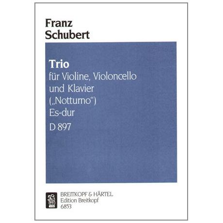 Schubert, F.: Notturno Es-Dur op.post. 148, D 897