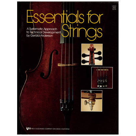 Anderson, Gerald E.: Essentials For Strings