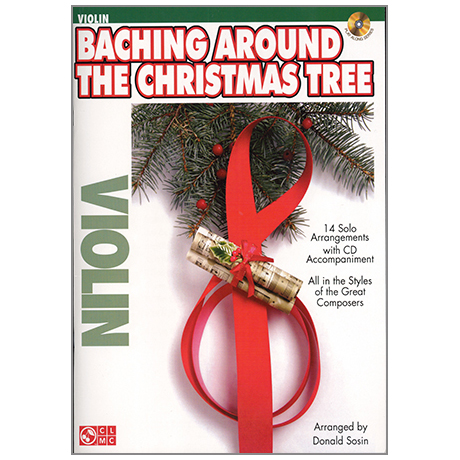Baching Around The Christmas Tree for Violin (+CD)