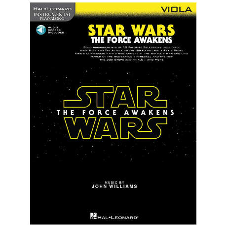 Williams, J.: Star Wars: The Force Awakens – Viola (+Online Audio)